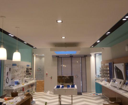 la nouvelle boutique vitrine de Bouygues à Bordeaux
