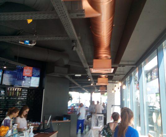 hotte climatisation restaurant